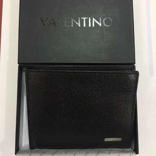 Black authentic Valentino wallet