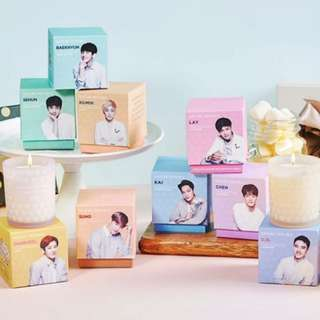 EXO NATURE REPUBLIC NATURAL SCENTED CANDLE