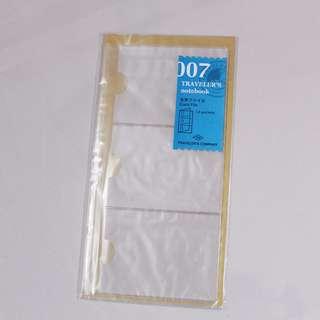 Midori Traveler's Notebook - 007 Card File (Regular Size)