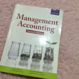 OXFORD MANAGEMENT ACCOUNTING (2nd Edition)