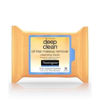 Neutrogena Deep Clean Cleansing Wipes