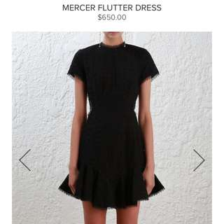 Zimmerman Mercer Flutter Dress