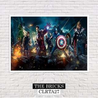 The Avengers Marvel (A4 Size) Poster
