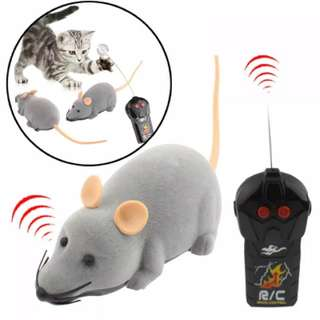 mini mice prank toy with remote control / tikus mainan