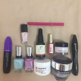 Mix Of Skincare And Makeup(price Include Everything)