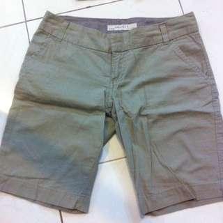 ZARA Khaki Basic Pants