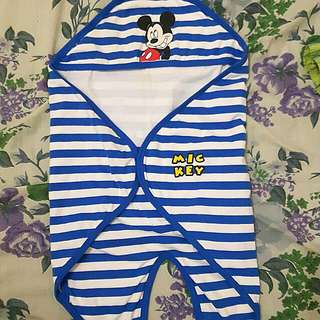 REPRICED! swaddle mickey mouse
