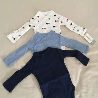 New born bodysuit (Carters baby boy clothes)