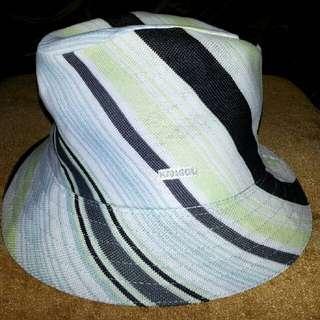 Kangol帽 袋鼠帽 BK  紳士帽    M/56CM~59CM   原價:1890