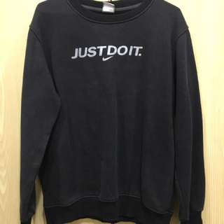 Nike 黑色 大學t XL Just Do It