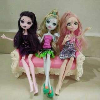 Monster High Girls In Set ❤