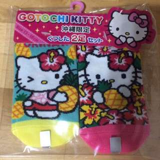 全新hello Kitty Socks