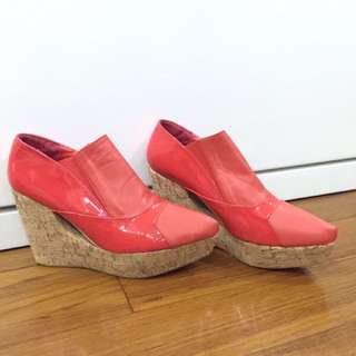 Red Shoes Size 39