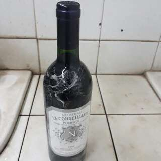 Red Wine From France Chateau La Consellante Tahun 1990