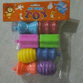 Plastic Pop Beads