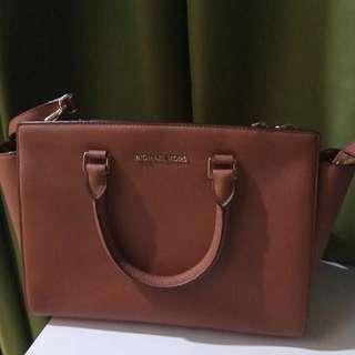 Authentic Michael Kors Bag - Brown