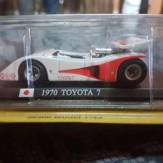 Del Prado 1970 Toyota 7 1:43