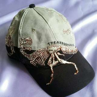 Dinosaur Embroidered Cap