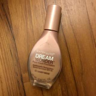 (Wholesale 30%) Maybelline Dream Wonder Fluid-Touch Foundation Spf 20 Sandy Beige