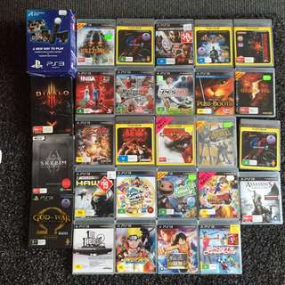 PS3+25 Games+ Console