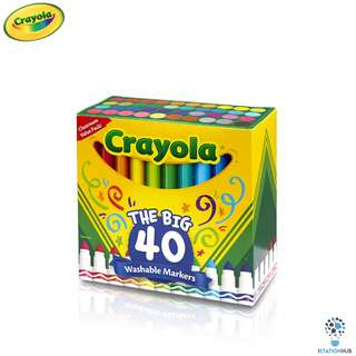 Crayola The Big 40 Washable Markers | Classroom Pack [CR-587858]