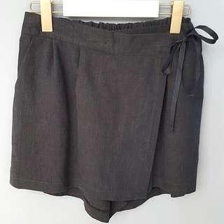 #正韓# 棉麻褲裙