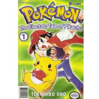 Pokemon Manga Volume 1: The Electric Tale of Pikachu!