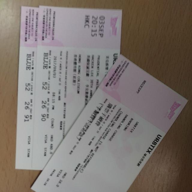 李克勤慶祝成立30週年演唱會 $480 X2 連位原價