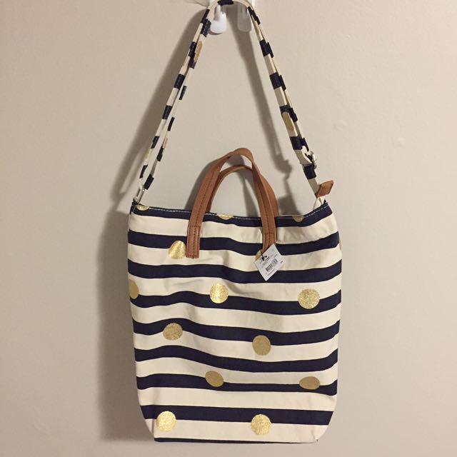 3-way Canvas Bucket Bag