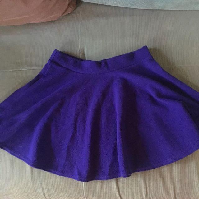 寶藍 魚尾短裙