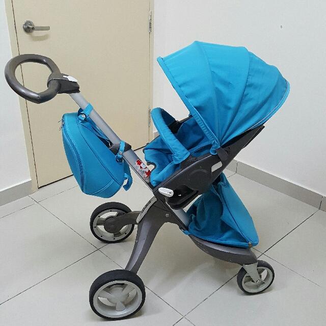 Niesamowite Negotiable*** Stokke Xplory V2 Stroller, Babies & Kids, Strollers WZ81