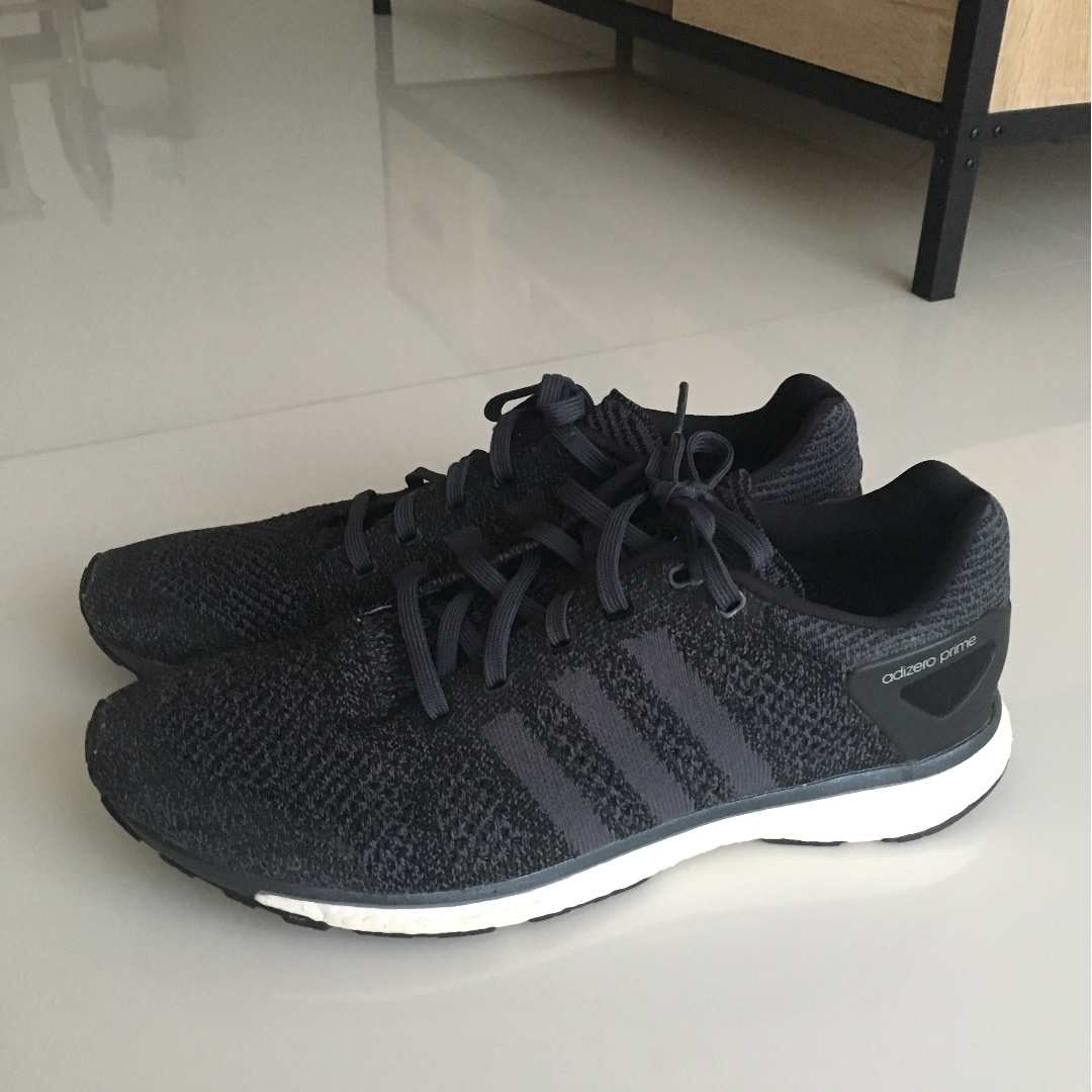 reputable site be2ce 87074 Adidas Adizero Prime Boost 'Midnight', Sports, Sports Apparel on Carousell