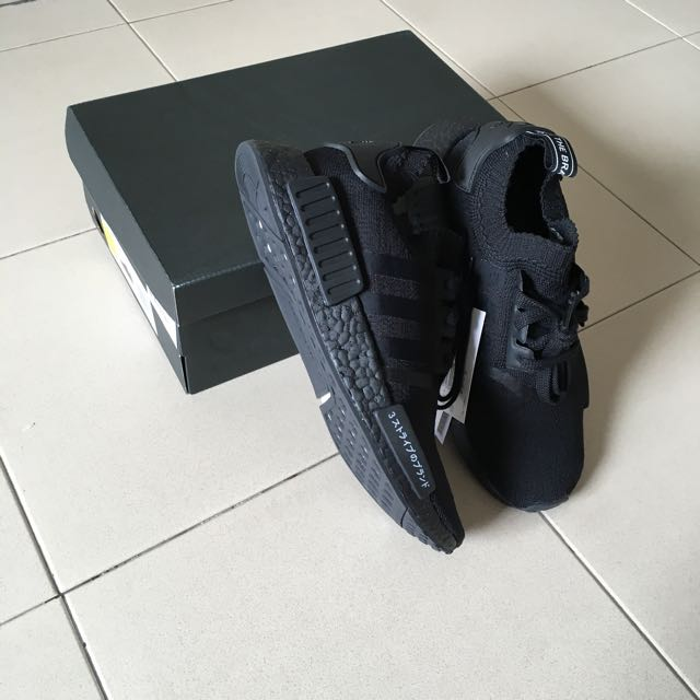 812ba11d14bcd Adidas Originals NMD R1 PK Triple Black