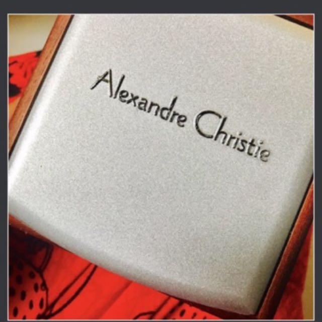 Alexandre Christie Watch White&gold