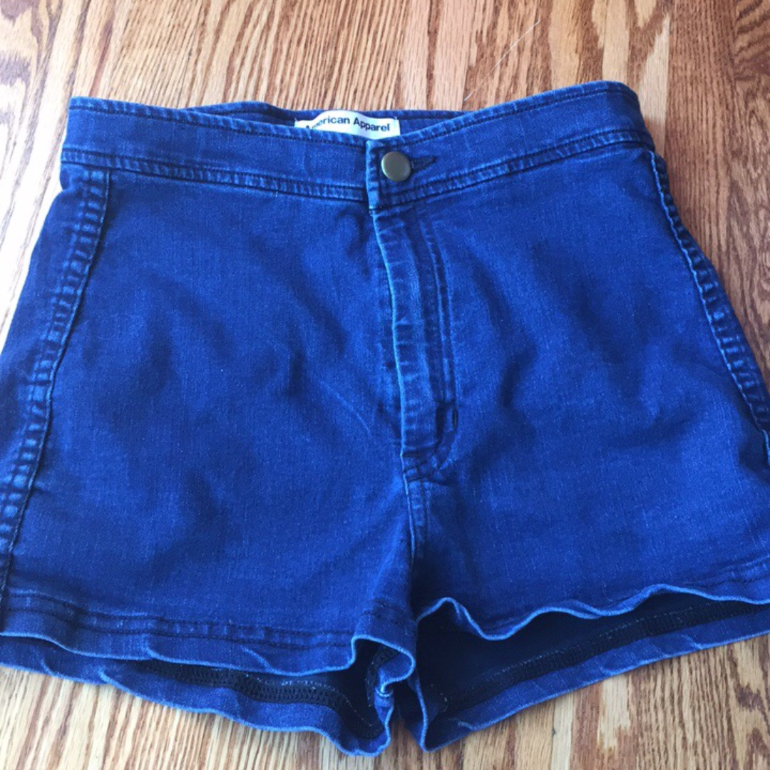 American Apperal High Waisted Jean Shorts