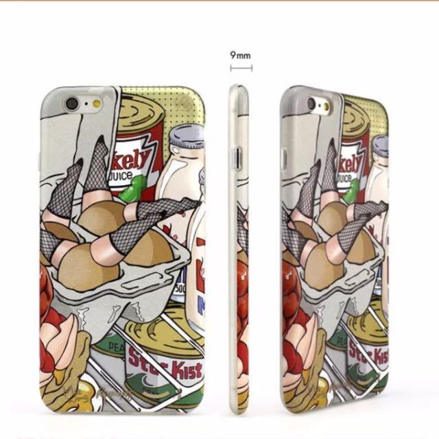 Apple iPhone 6s Plus 6+ 手機殼 文創 插畫手機殼 保護殼 搞怪 繽紛 I6s