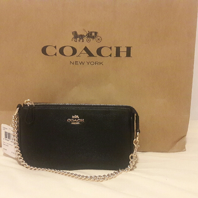 Authentic Coach Wristlet Sling
