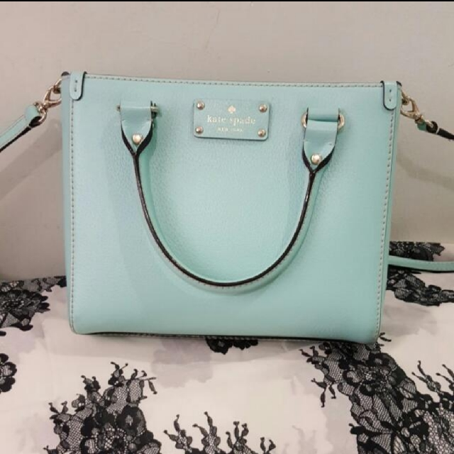 0a4b431cb Authentic Kate Spade Tiffany Blue Sling Bag, Women's Fashion, Bags &  Wallets on Carousell