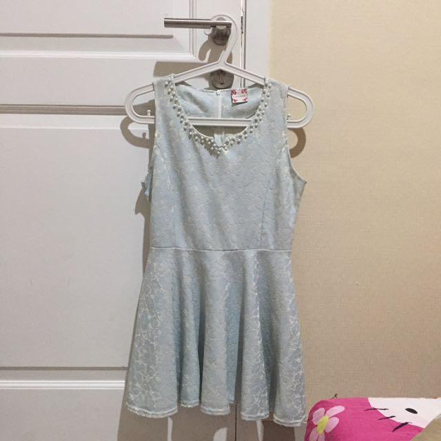 BABY BLUE DRESS 🌈💥