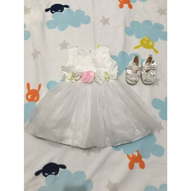 Baptismal Dress 3-6M