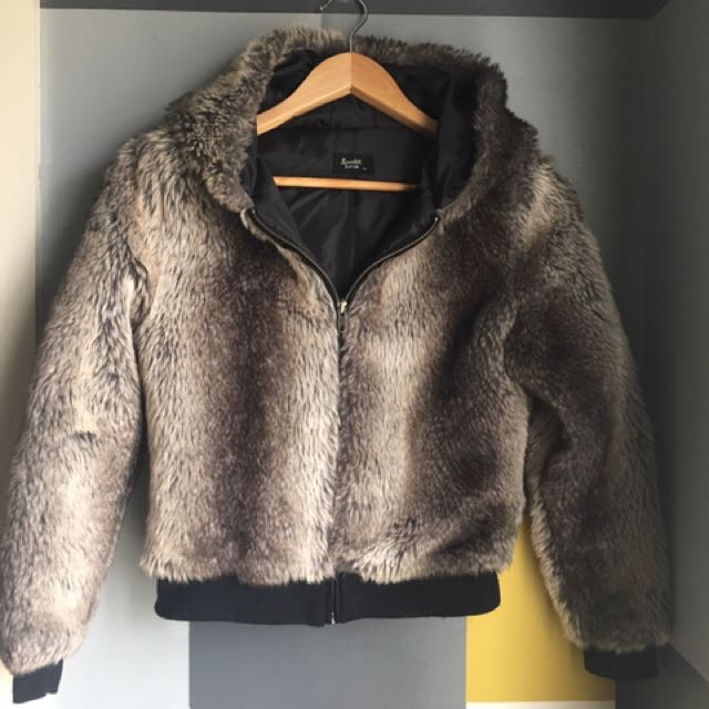 Bardot Fur Coat Jacket