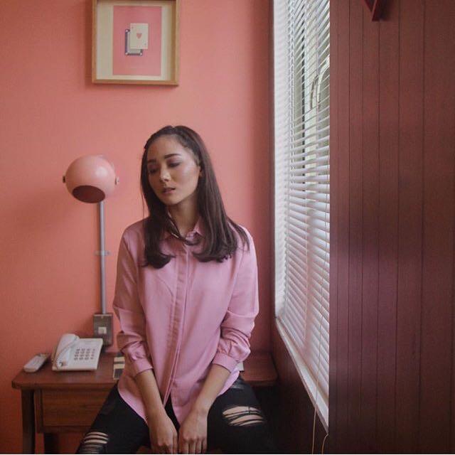 Atkey Basic Pink Shirt
