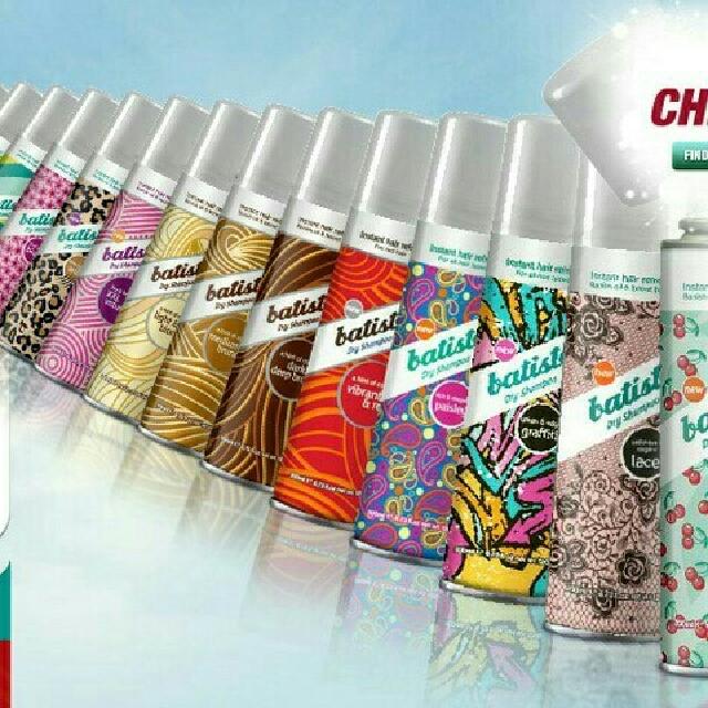 Batiste Instant Hair Refresh Dry Shampoo