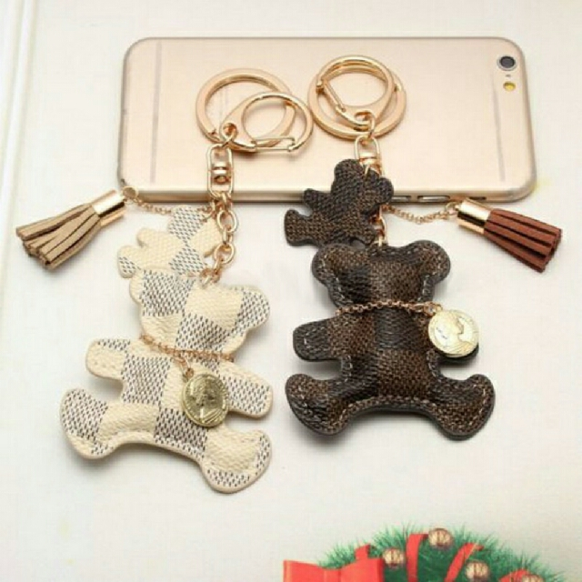 Bear Keychain (LV's Design)
