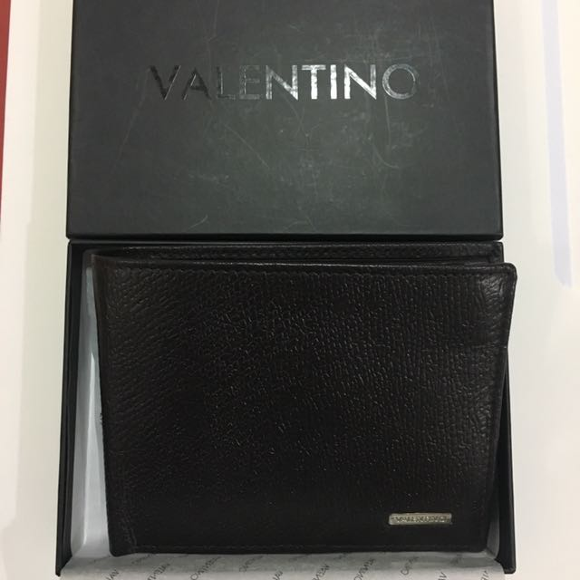 Black authentic Valentino wallet