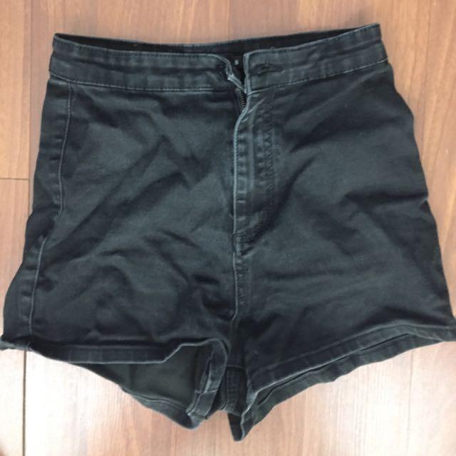 Black Mink Shorts