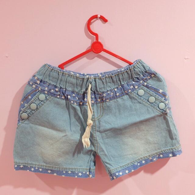 Blue shortpants - denim