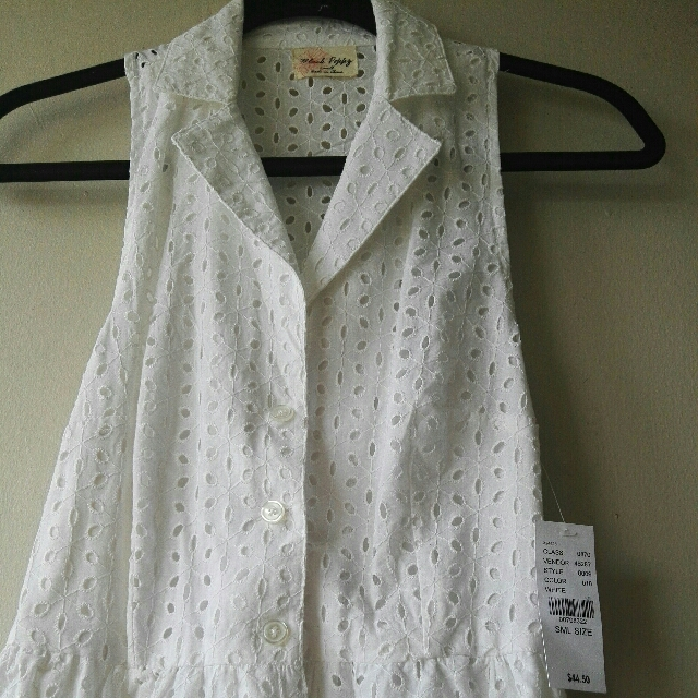 BRAND NEW PACSUN WHITE DRESS
