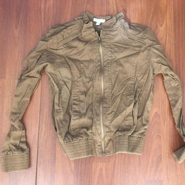 Brown Light Khaki Jacket