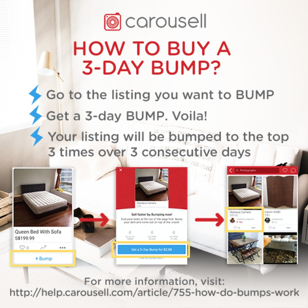 Bump Special: Furniture U0026 Home Items Exclusive!, Community On Carousell